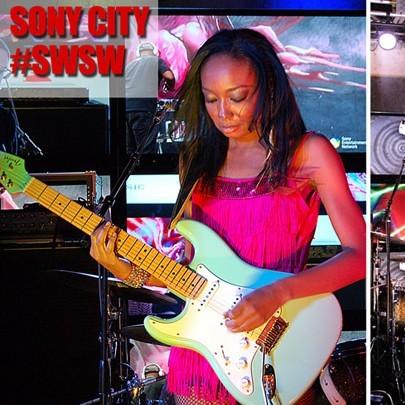 Malina Plays Sony Stage at SXSW