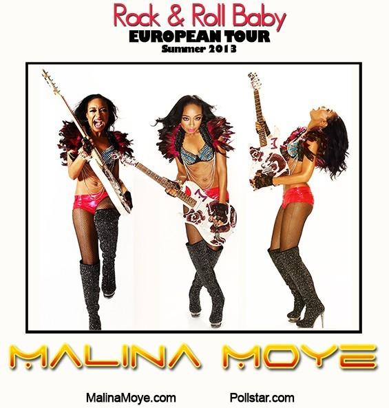 Malina's European Tour 2013